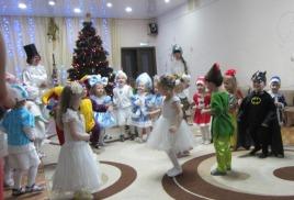 Новогодний праздник «Озорной снеговик»