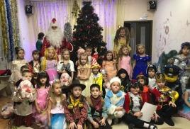 Новогодний праздник «В стране сказок».