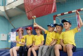 Команда родничка  - вторая  среди дошкольников города